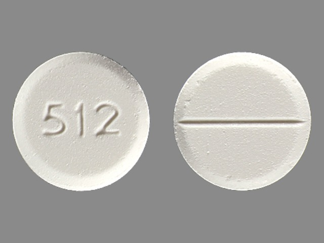 OXYCODONE AND ACETAMINOPHEN tablet - (oxycodone hydrochloride 7.5 mg acetaminophen 325 mg) image