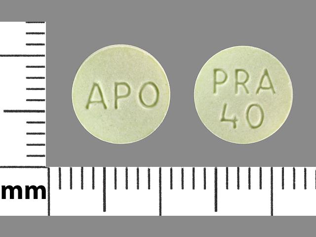 PRAVASTATIN SODIUM tablet - (pravastatin sodium 20 mg) image