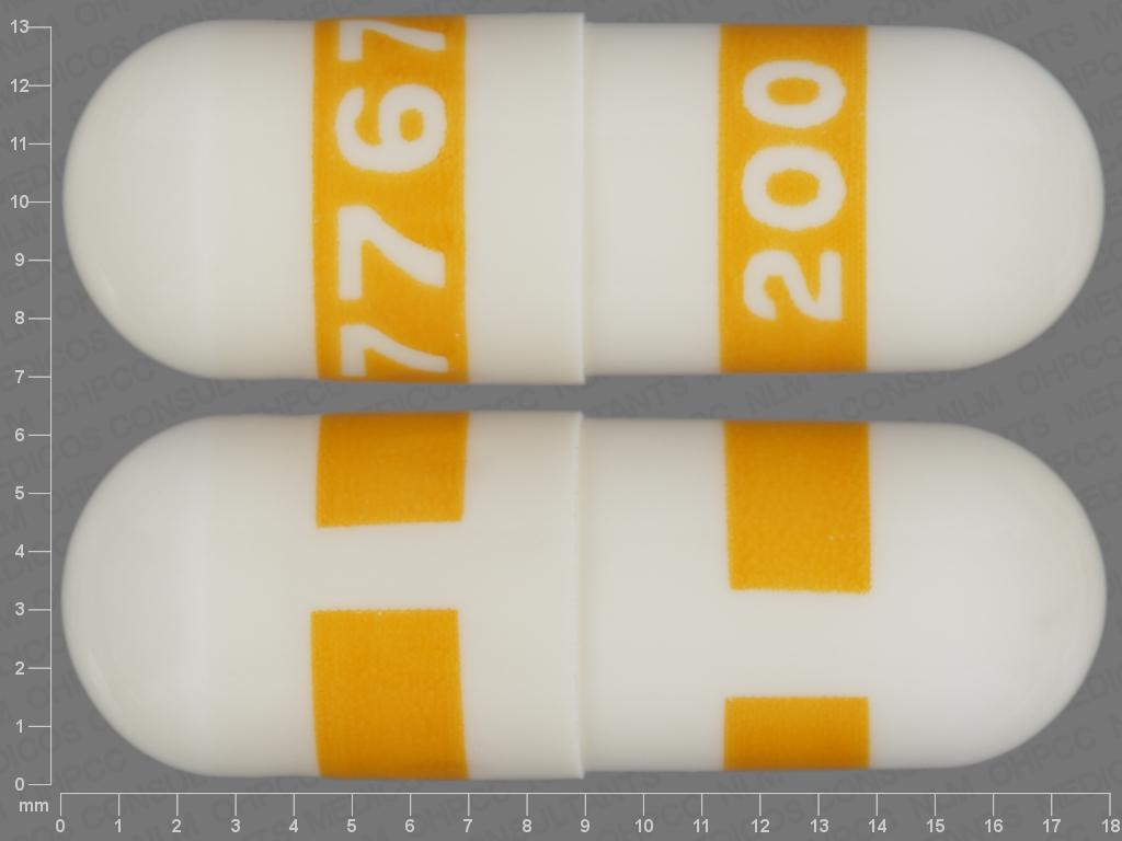 Celecoxib capsule - (celecoxib 50 mg) image