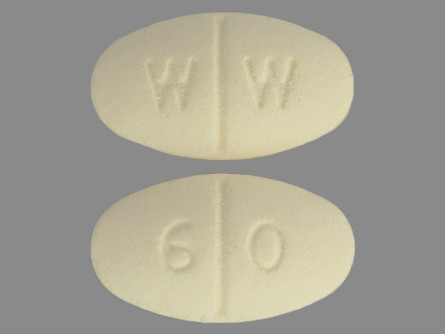 Isosorbide Mononitrate tablet, film coated, extended release - (isosorbide mononitrate 60 mg) image