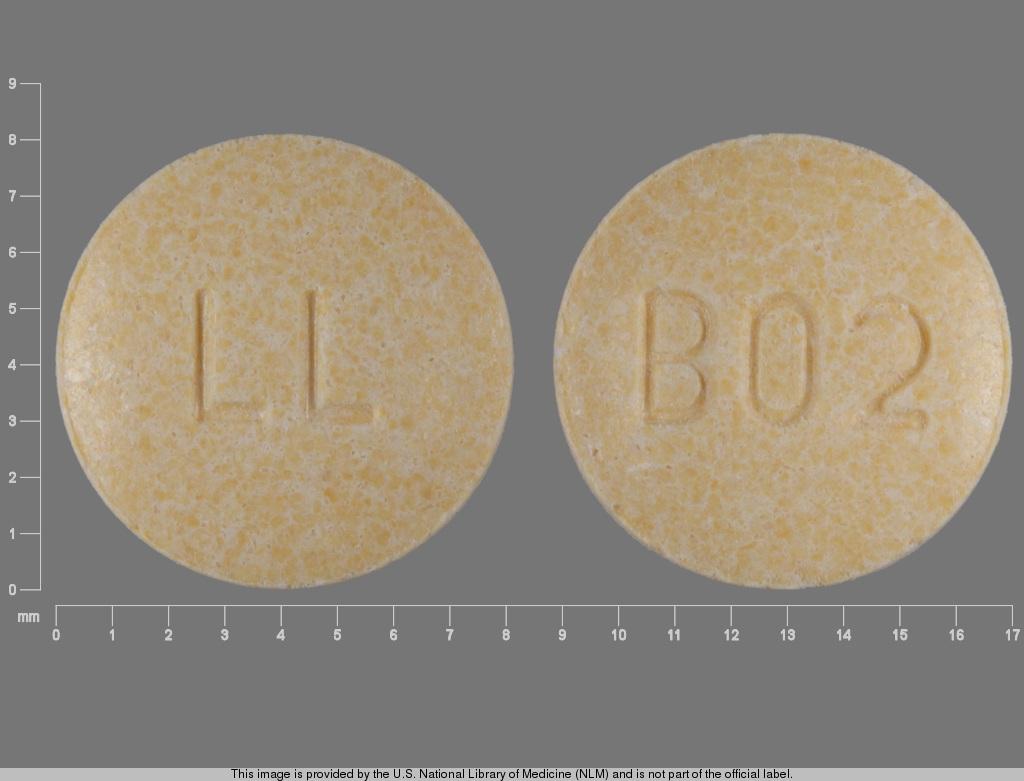 Lisinopril and Hydrochlorothiazide tablet - (hydrochlorothiazide 25 mg lisinopril 20 mg) image